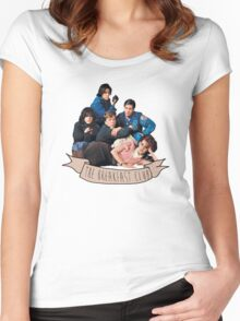 the breakfast club banner Women's Fitted Scoop T-Shirt