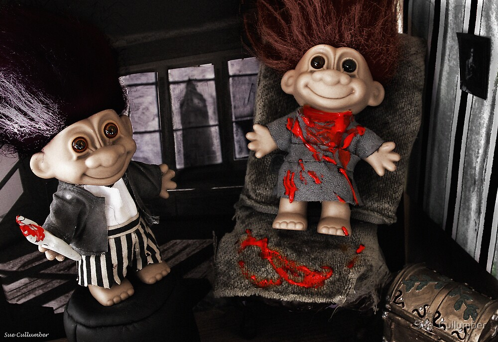 Sweeny Troll by Sue  Cullumber
