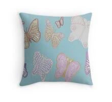 Butterflies Abound Throw Pillow