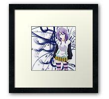 Mizore - Rosario + Vampire Framed Print