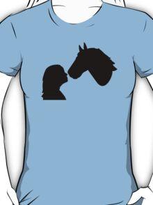 Horse girl woman T-Shirt