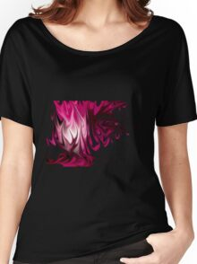 Pink Flames Women's Relaxed Fit T-Shirt