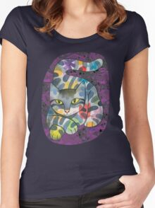 Now You See Him… Women's Fitted Scoop T-Shirt