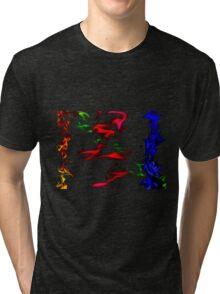 Flaring Off Tri-blend T-Shirt