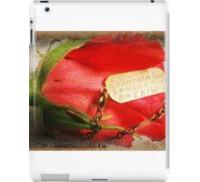 Nana's WW11 Identification Bracelet iPad Case/Skin