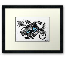 The BlackDot   from Le Bleu Series Framed Print