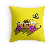 Sweet car Throw Pillow