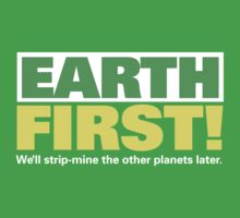 86 Earth First by Andrew Gordon