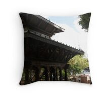 Nepalese Temple, South Bank Brisbane Throw Pillow