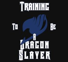 Training to be a Dragon Slayer by elyss216