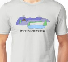 Simple Things -- Cabin Unisex T-Shirt