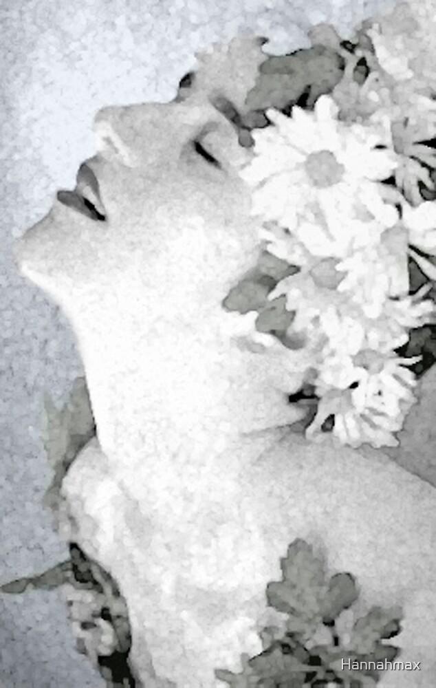 Natanya in flowers by Hannahmax