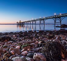 Blue Hour @ the Pier by Gary Clark