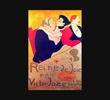 'Rene De Joi' by Toulouse Lautrec (Reproduction) Womens Fitted T-Shirt