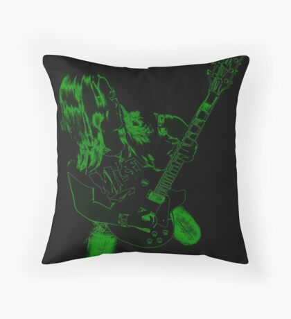 electro-cute Throw Pillow