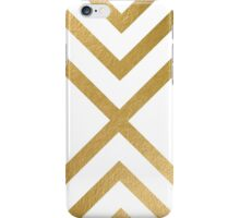 modern art gold pattern iPhone Case/Skin