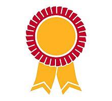 Rosette winners badge Photographic Print