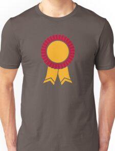 Rosette winners badge Unisex T-Shirt