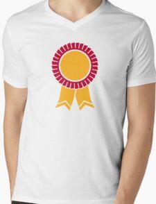 Rosette winners badge Mens V-Neck T-Shirt