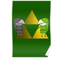 Link's Dark Side Poster