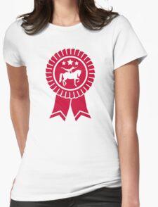 Horse vaulting ribbon winners badge T-Shirt