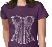 Voulez-vous coucher avec moi ce soir! (WhiteVersion) Womens Fitted T-Shirt