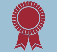 Red rosette winners badge Kids Tee