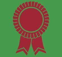 Red rosette winners badge Baby Tee
