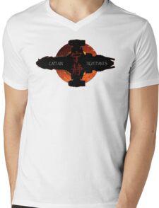 Captain Tightpants Mens V-Neck T-Shirt