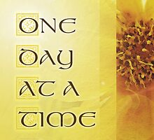 One Day at a Time Coreposis  by serenitygifts