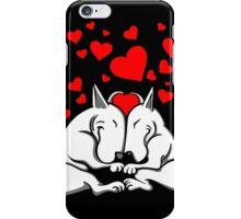 Bull Terriers In Love iPhone Case/Skin