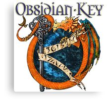 Obsidian Key - SLY Dragon - Progressive Rock Metal Music - (Epic Style) - FD Canvas Print