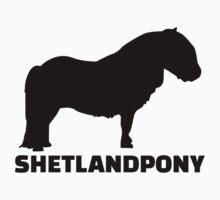 Shetland Pony by Designzz
