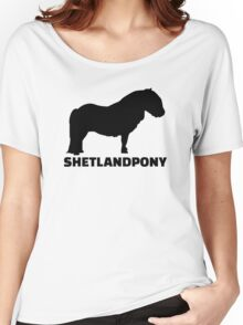 Shetland Pony Women's Relaxed Fit T-Shirt