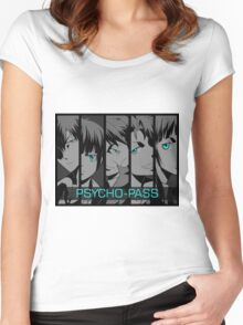Psycho - Pass Women's Fitted Scoop T-Shirt