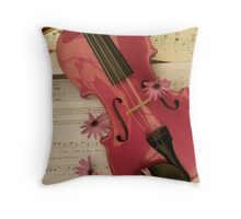 The Beauty Of Music Throw Pillow