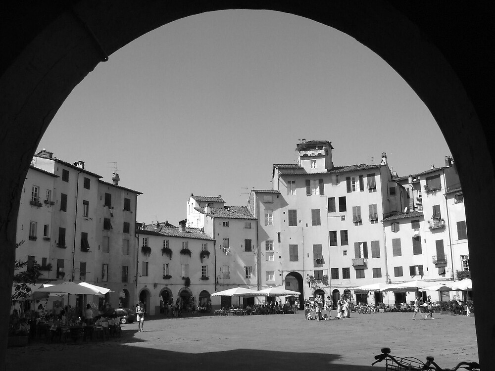 Not an Ampitheatre Anymore, Lucca, Italy by Katherine Wiles