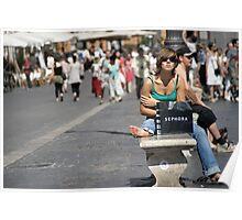 Piazza Navona Roma Poster