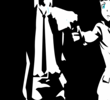 Psycho-Pass Pulp Fiction Crossover Sticker