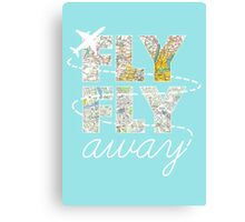 Catch Me If You Can - Fly, Fly Away Canvas Print