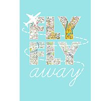 Catch Me If You Can - Fly, Fly Away Photographic Print