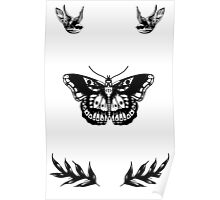 Harry Styles Tattoos Poster