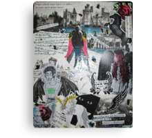 Darkwings Collage Canvas Print