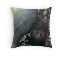 Clara and Danny Throw Pillow
