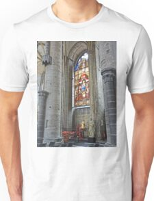 In St Nicholas' Church in Ghent  Unisex T-Shirt