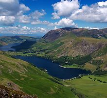 Buttermere & Crummock Water by Roger Butterfield