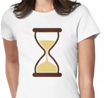 Hourglass Sand glass Womens Fitted T-Shirt