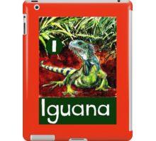 I is for Iguana iPad Case/Skin