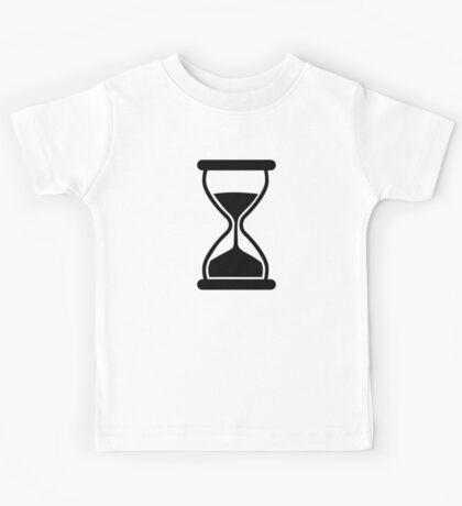 Hourglass Clock Kids Tee