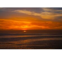 Sunset in Laguna Photographic Print